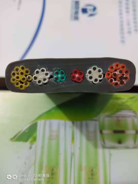 桂林斗轮机扁电缆加工