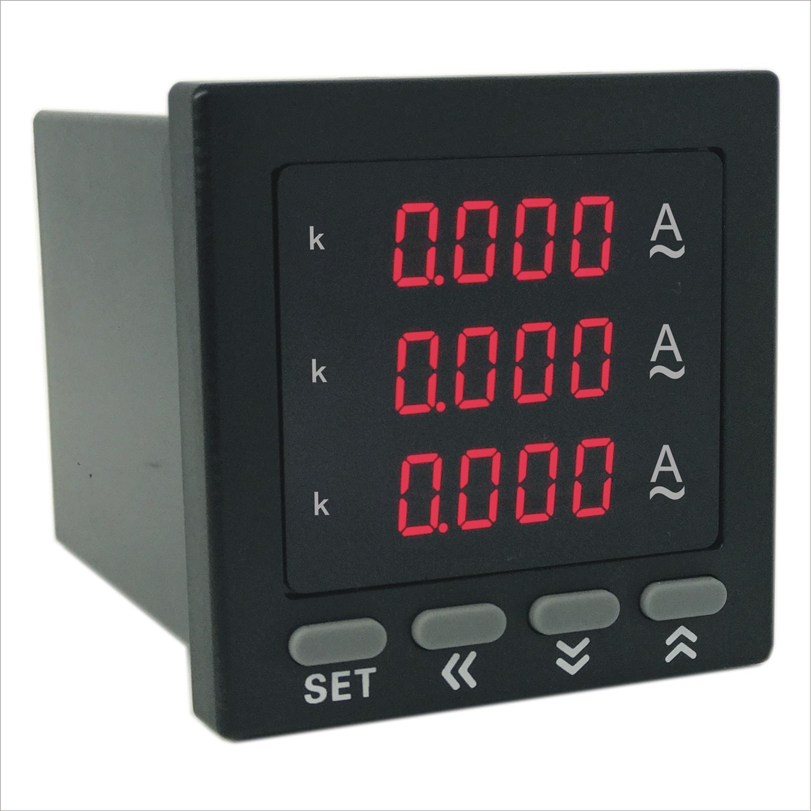 奥宾AOB184Z-9X4-3I数显三相电流表制造商 产品有质量保证