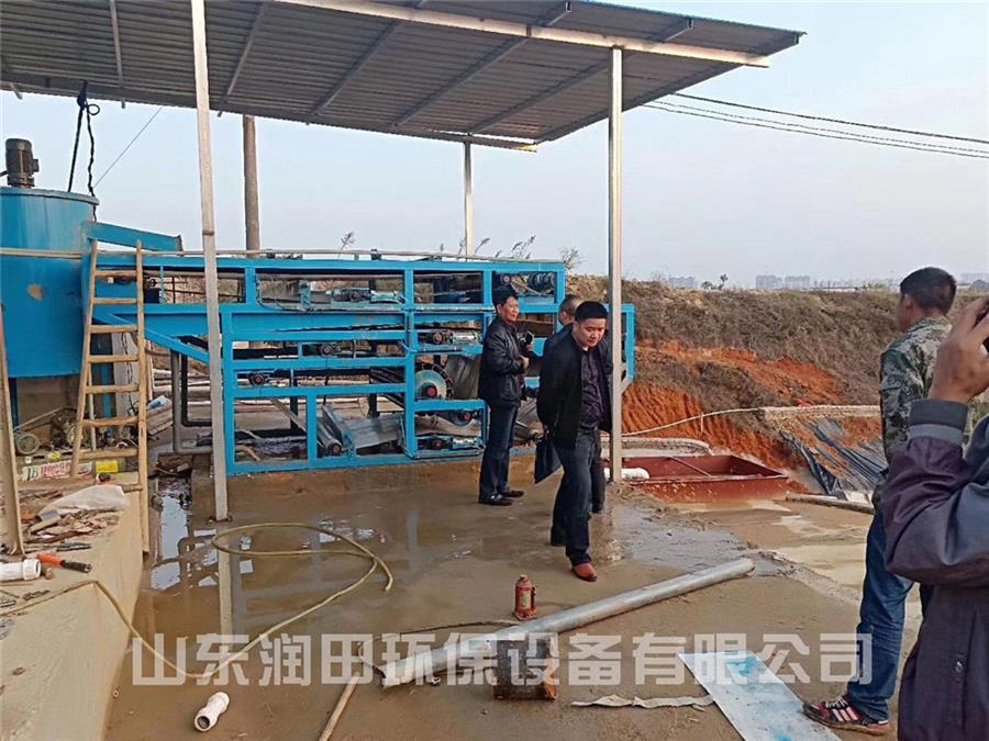 洗沙污水处理设备处理方案
