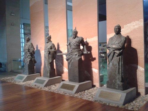 博物馆人物雕塑厂