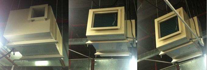 贵阳耐高温防爆吊顶式除湿机定做