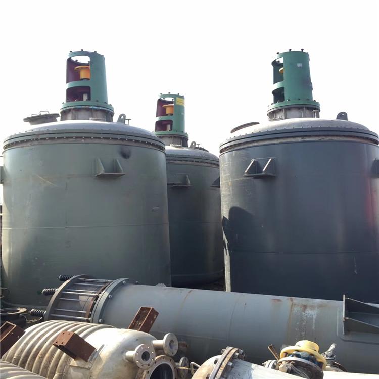 二手5吨不锈钢反应釜出售