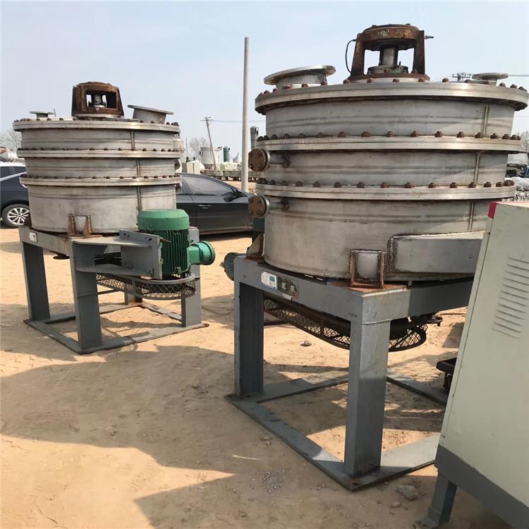 天津二手3吨搪瓷反应釜出售