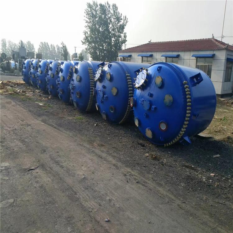 二手10吨搪瓷反应釜厂家
