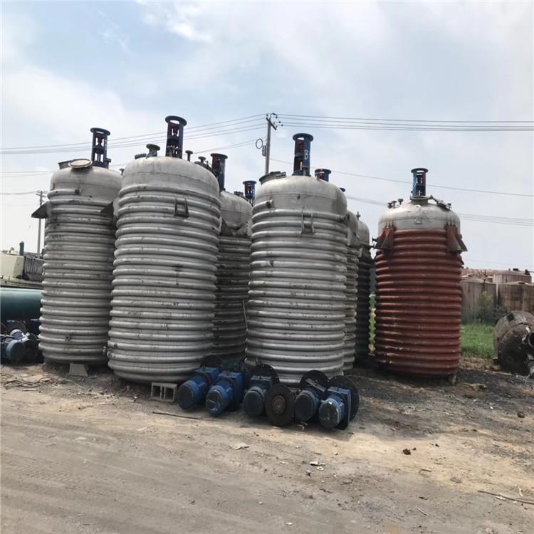 广州二手不锈钢反应釜出售