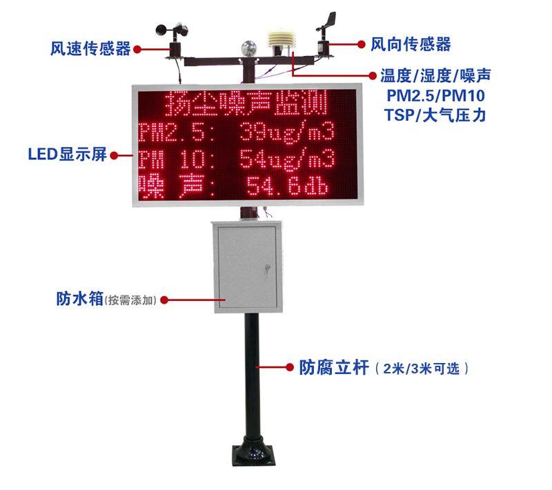 苏州扬尘监测系统