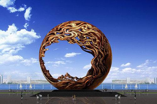 河源广场雕塑