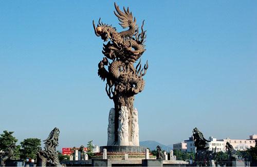 邵阳广场雕塑