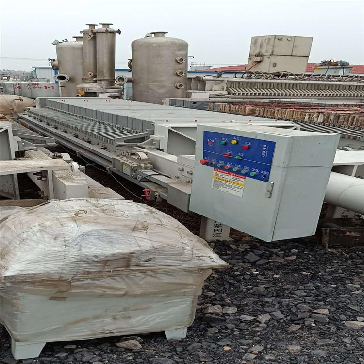 二手80平方污泥压滤机厂家