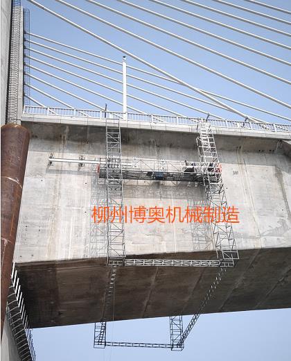 铝合金高铁桥检查小车生产厂家 桥梁检修车