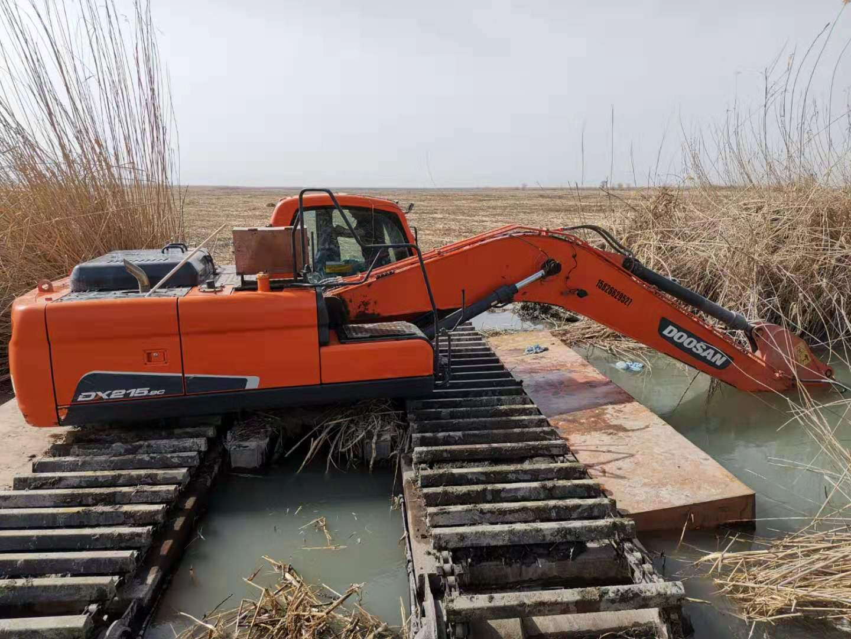 巴中水陆两用挖掘机出租 水陆两用挖掘机租赁