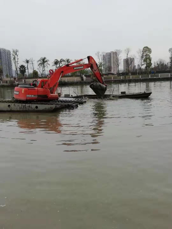 咸宁水陆挖机出租费用