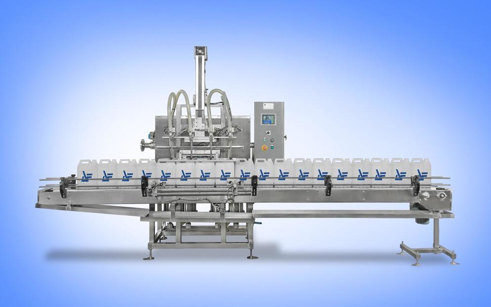 方桶润滑油装桶机生产