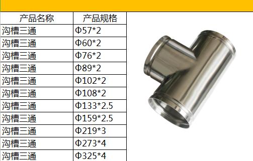 大庆沟槽式管件厂商