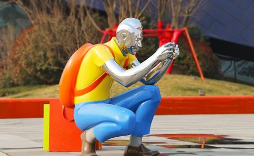 井冈山运动人物雕像