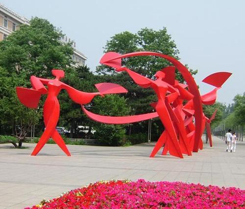 中山抽象人物雕塑
