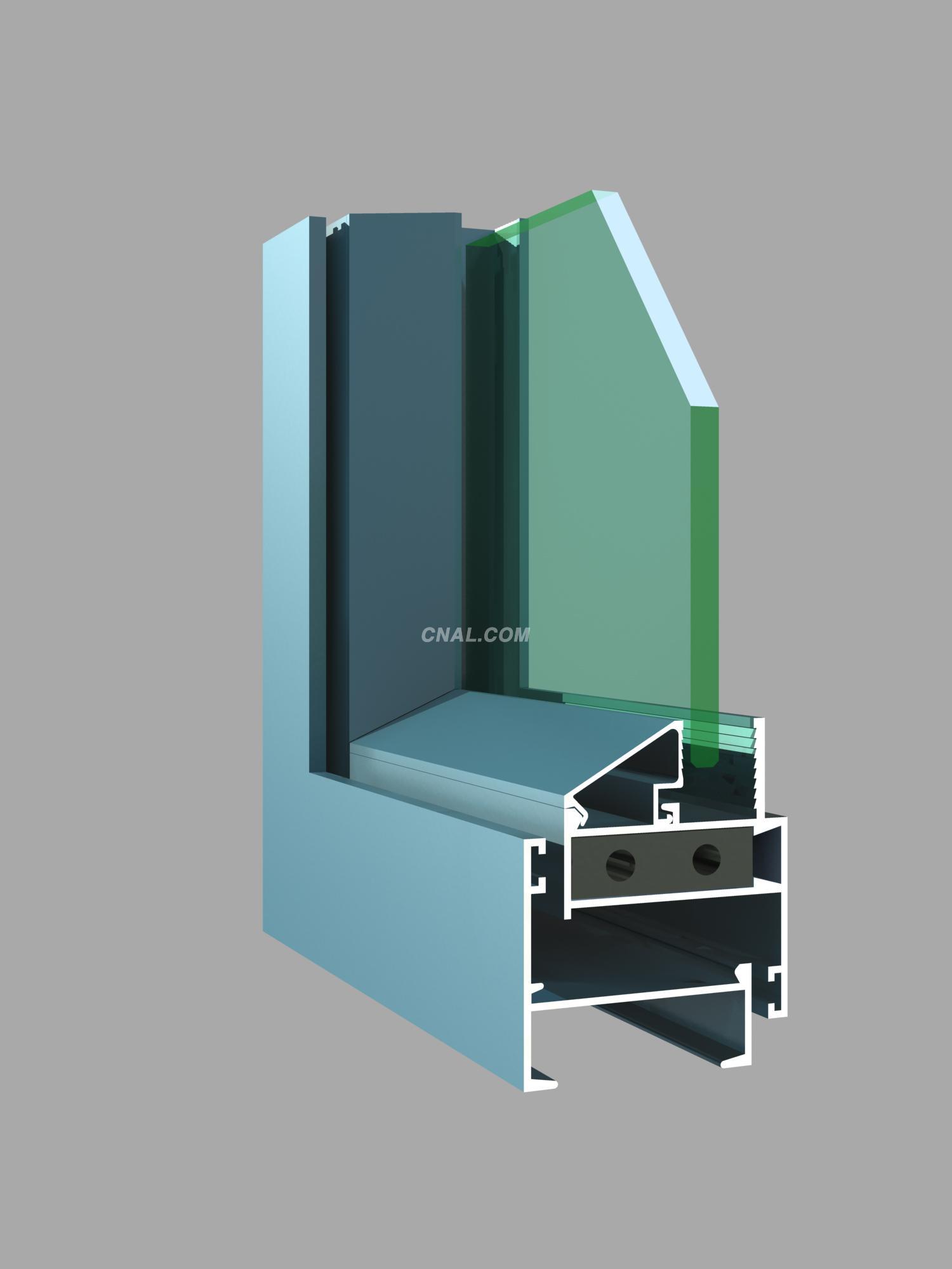 吉林门窗铝型材生产