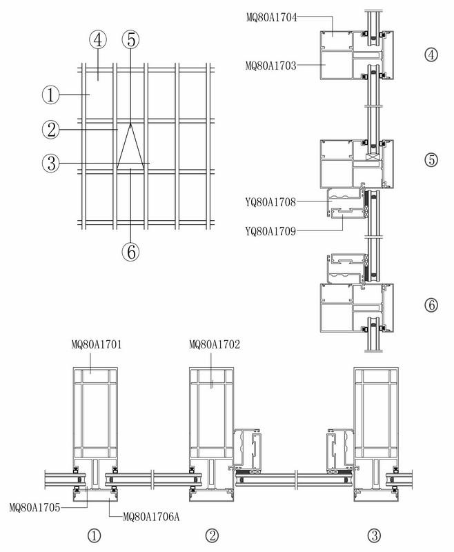 杭州幕墙铝型材定制