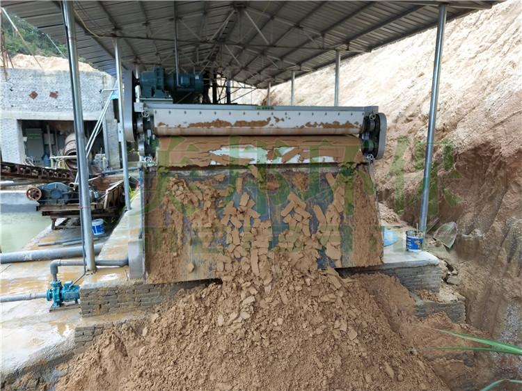 中卫沙场泥浆处理设备