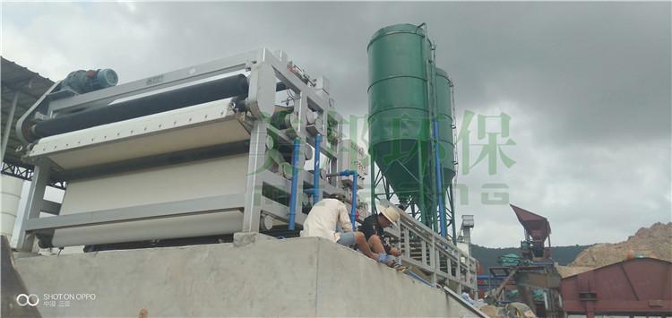 桂林洗沙泥浆脱水设备型号