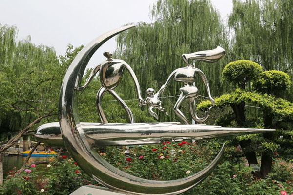 清远运动人物雕像