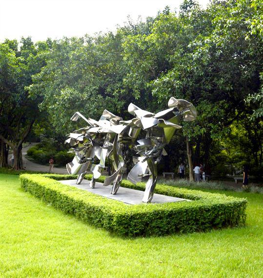 东莞抽象人物雕塑厂