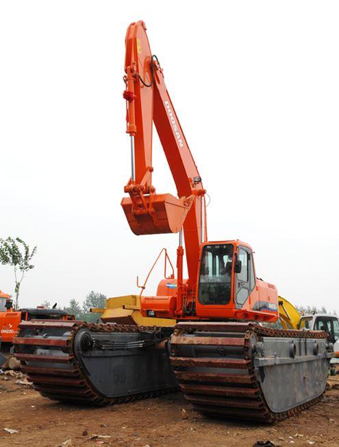 扬州水陆两用挖掘机出租