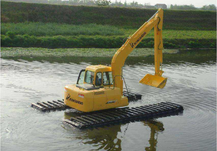 吐鲁番水陆挖机出租
