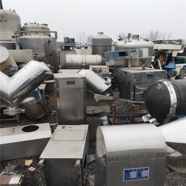上海回收二手三效降膜蒸发器价格