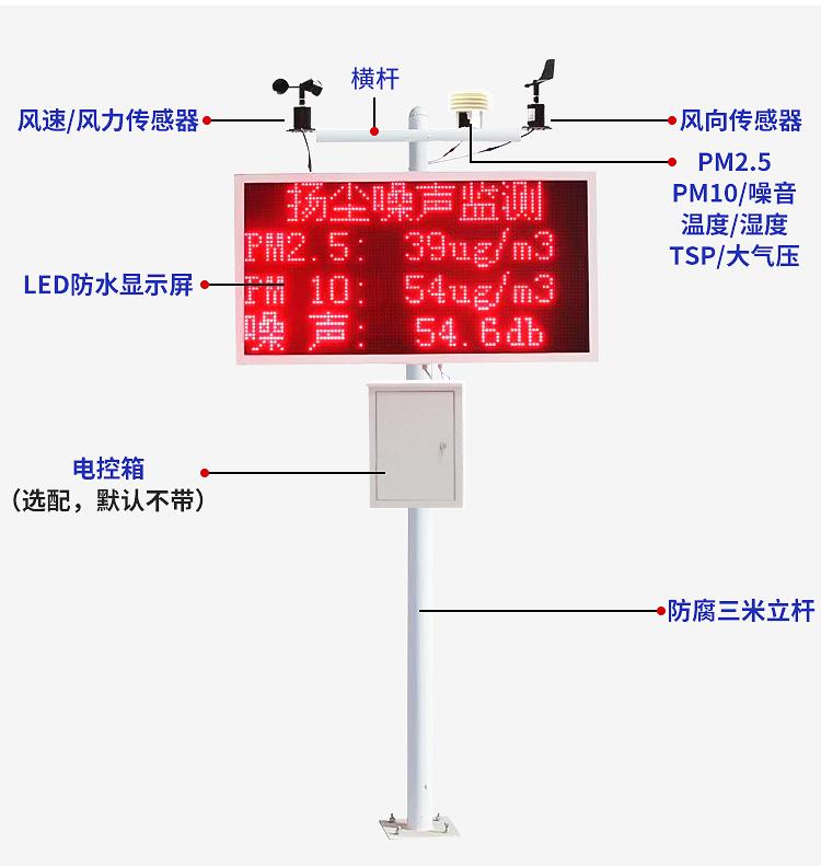 许昌扬尘监测软件系统