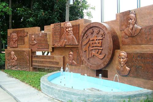 广州浮雕文化墙