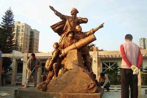 湖北博物馆雕塑厂家