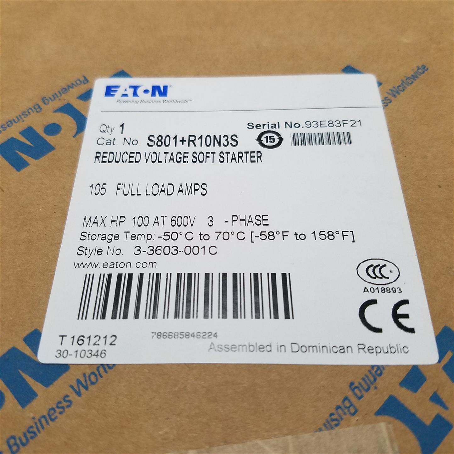 上海EMS39EATON伊顿穆勒S801系列软启动器厂
