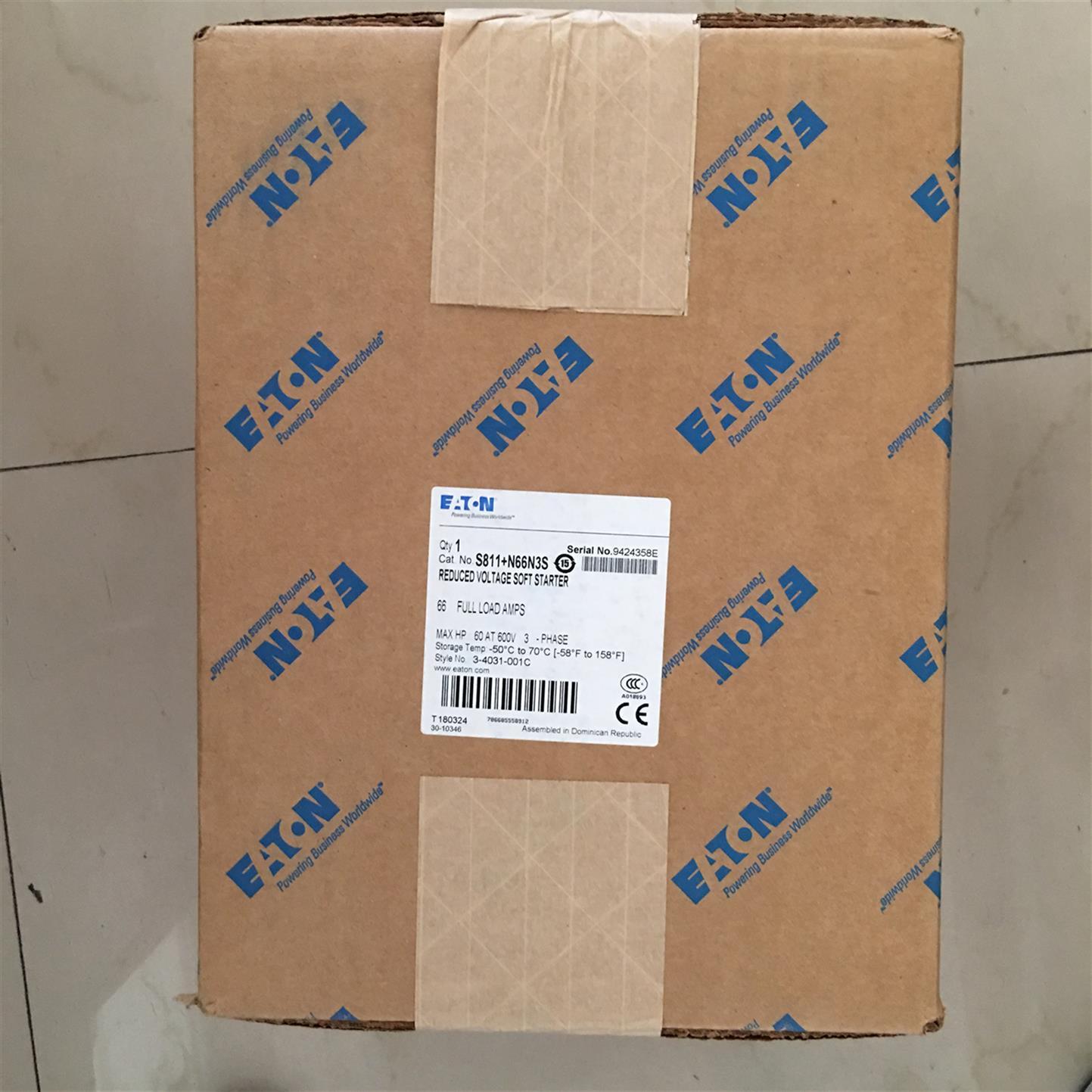 广州EML23EATON伊顿穆勒S801系列软启动器生产