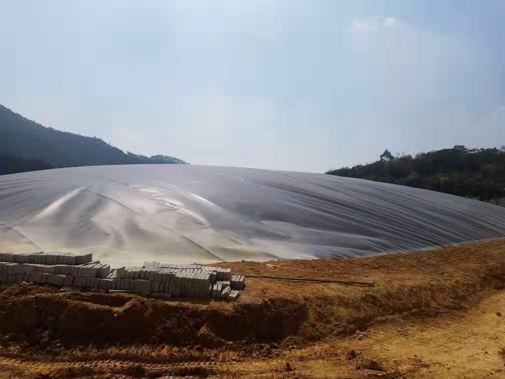 重庆盖泻湖沼气池建设