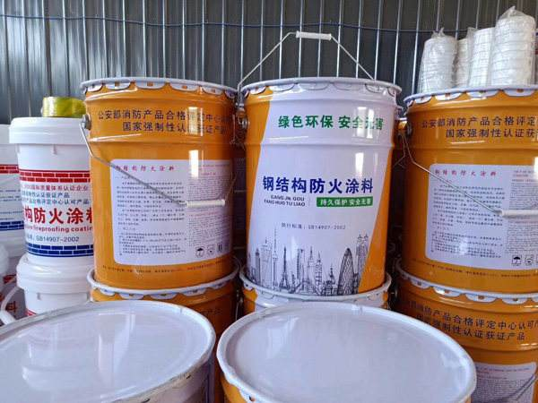 宁波室内钢结构厚型防火涂料工程