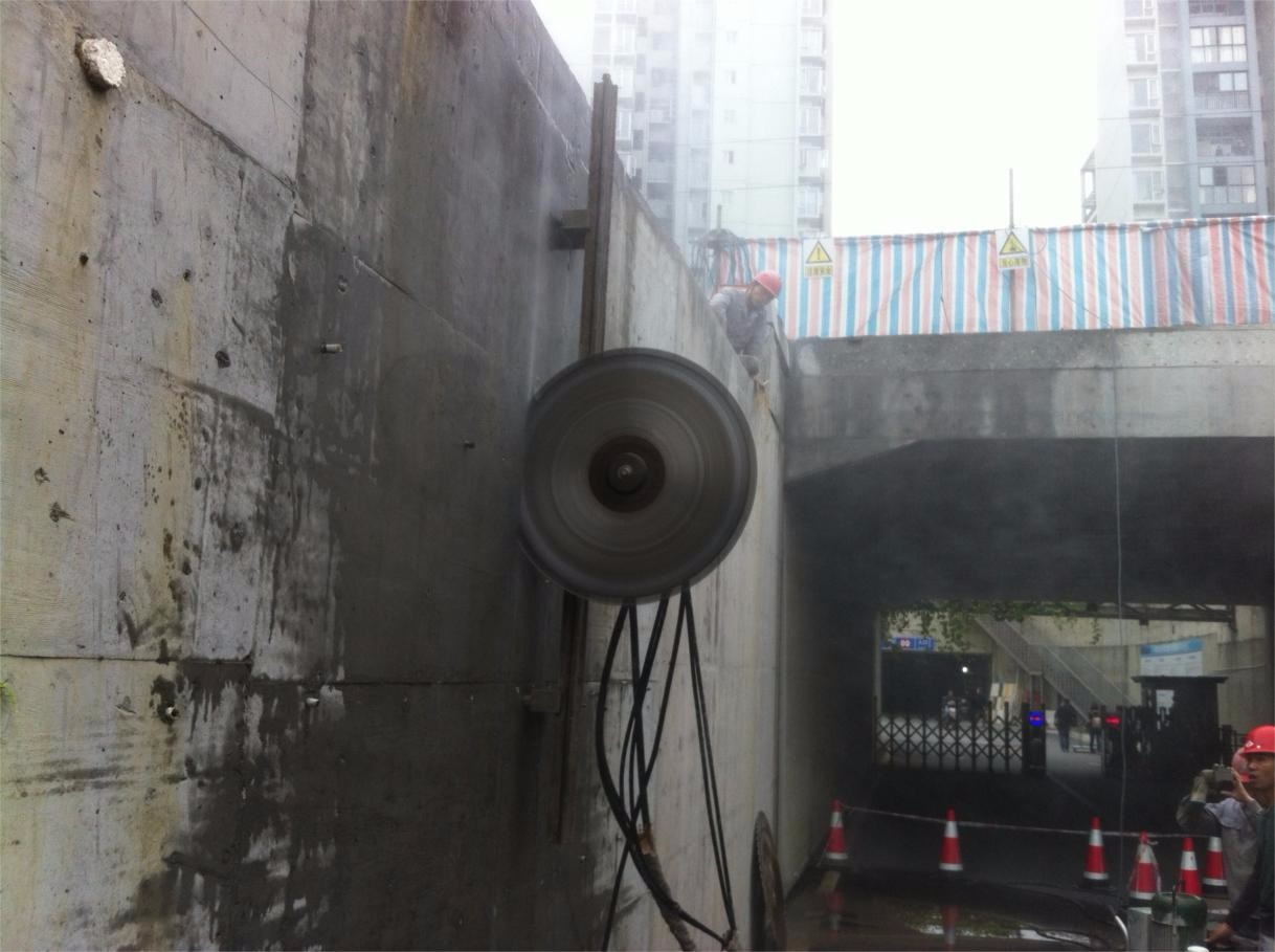 汕头桥梁拆除 桥墩静力切割拆除电话