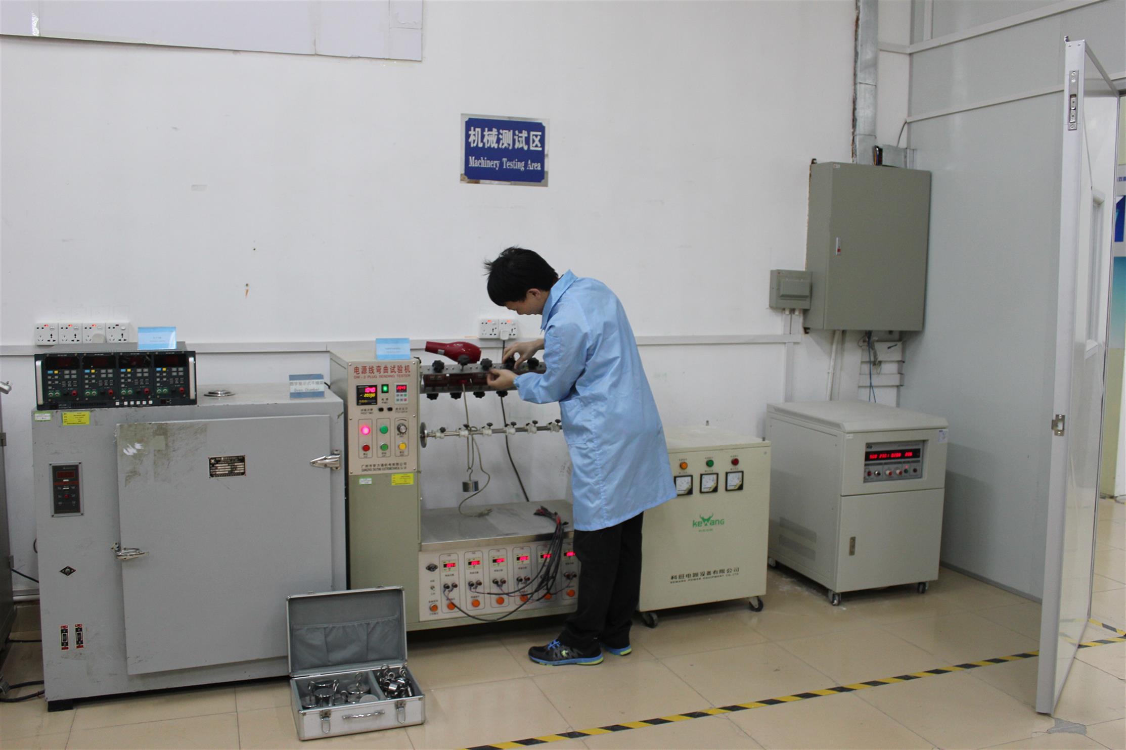 天津工矿灯沙特能效报告测试流程