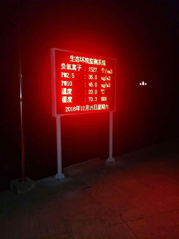 苏州环保负氧离子监测电话