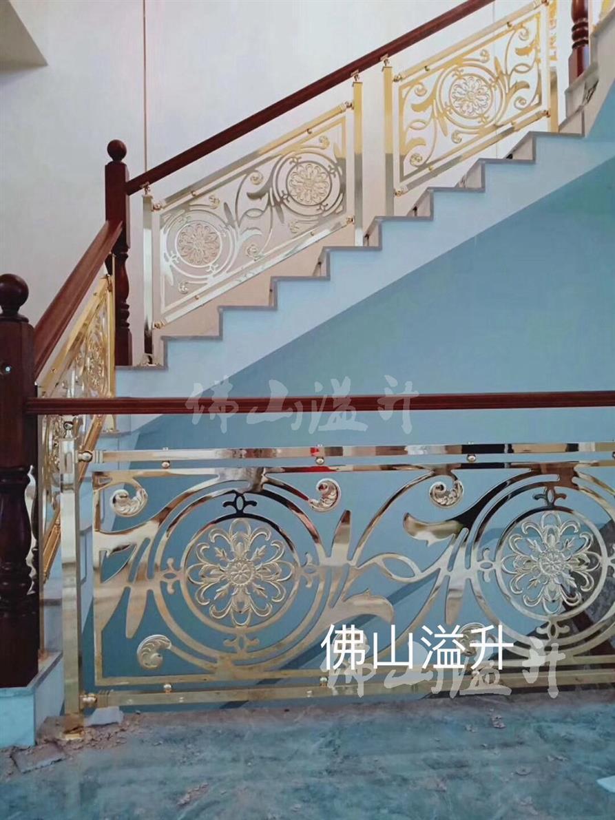 武汉别墅铜楼梯扶手厂家