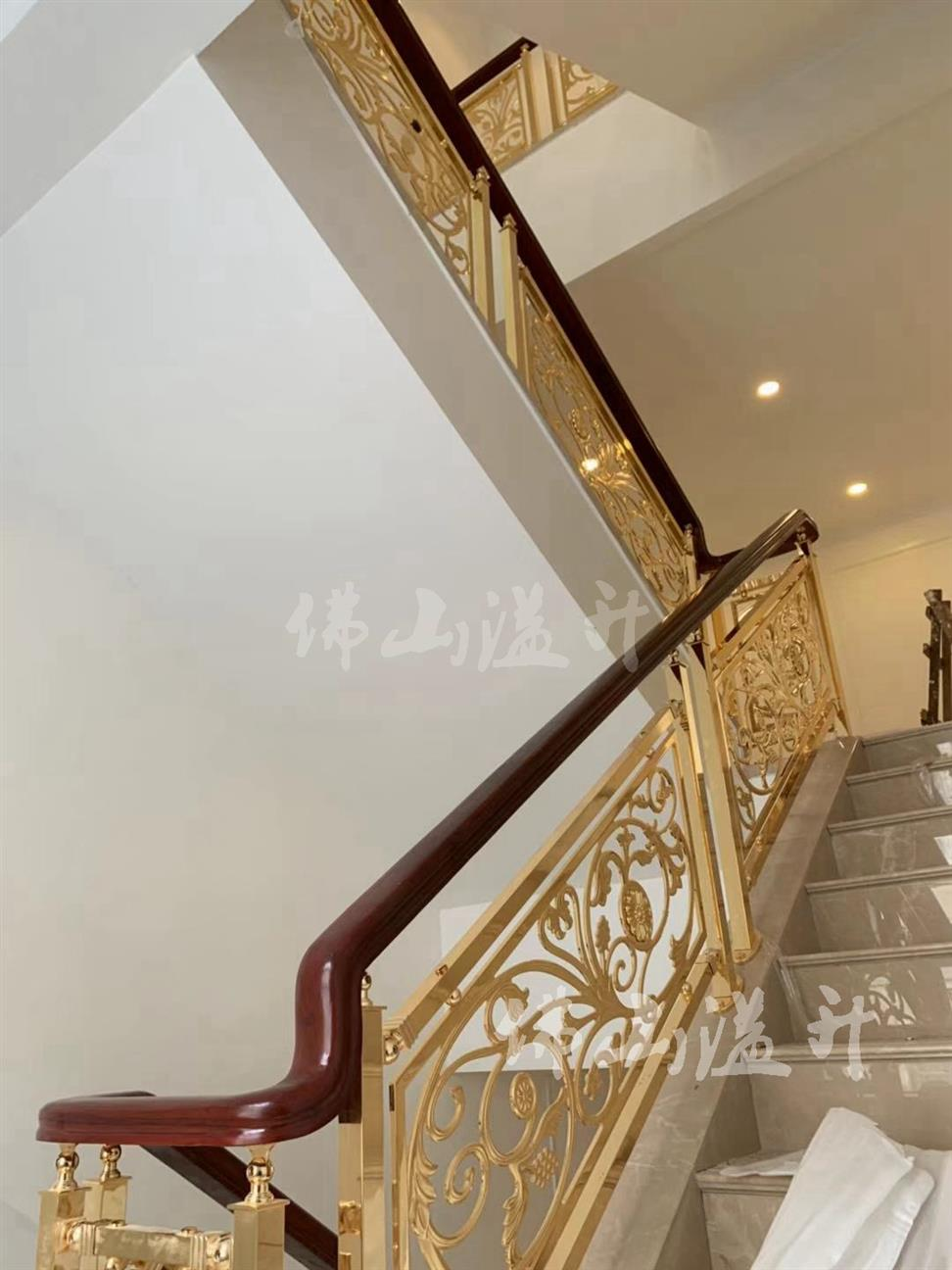 兰州华丽铜楼梯扶手价格