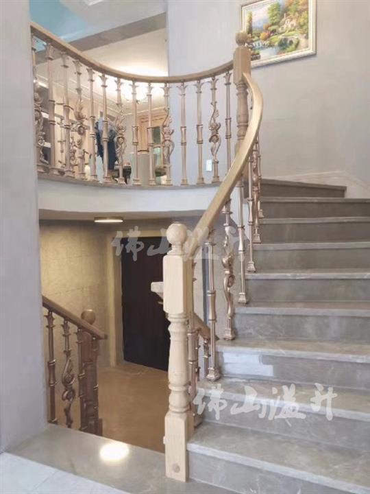 曲靖欧式铜艺楼梯扶手厂