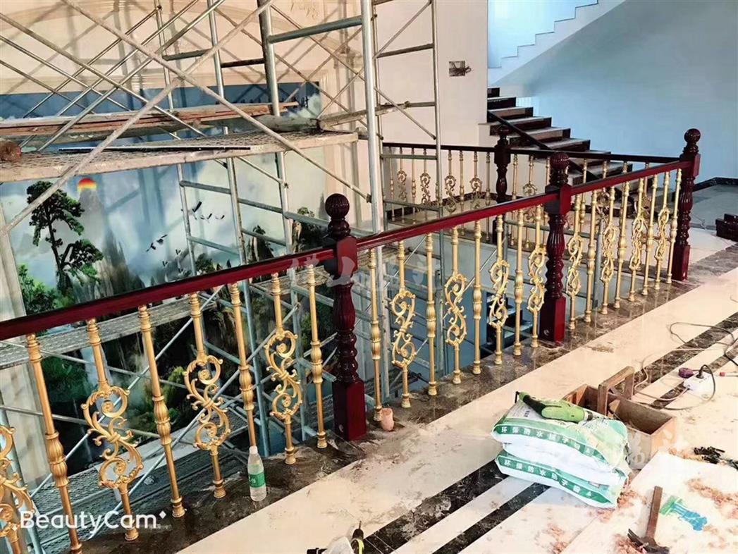 衡阳艺术铜艺楼梯扶手厂