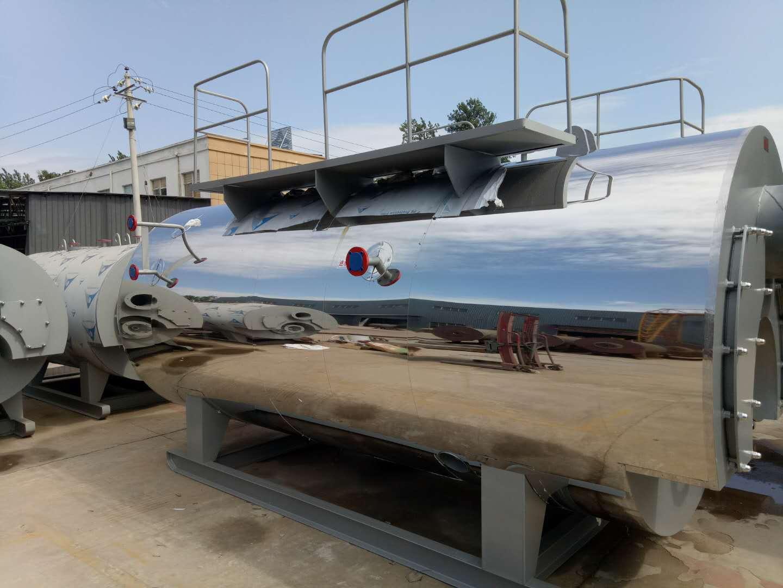 武汉4吨燃油气蒸汽锅炉食品加工