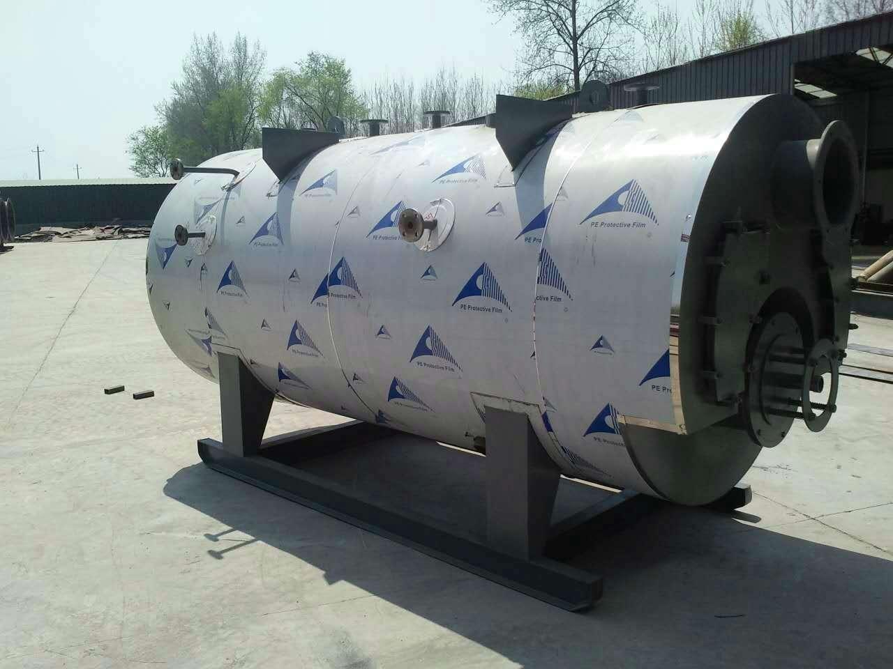 合肥8吨燃油气蒸汽锅炉