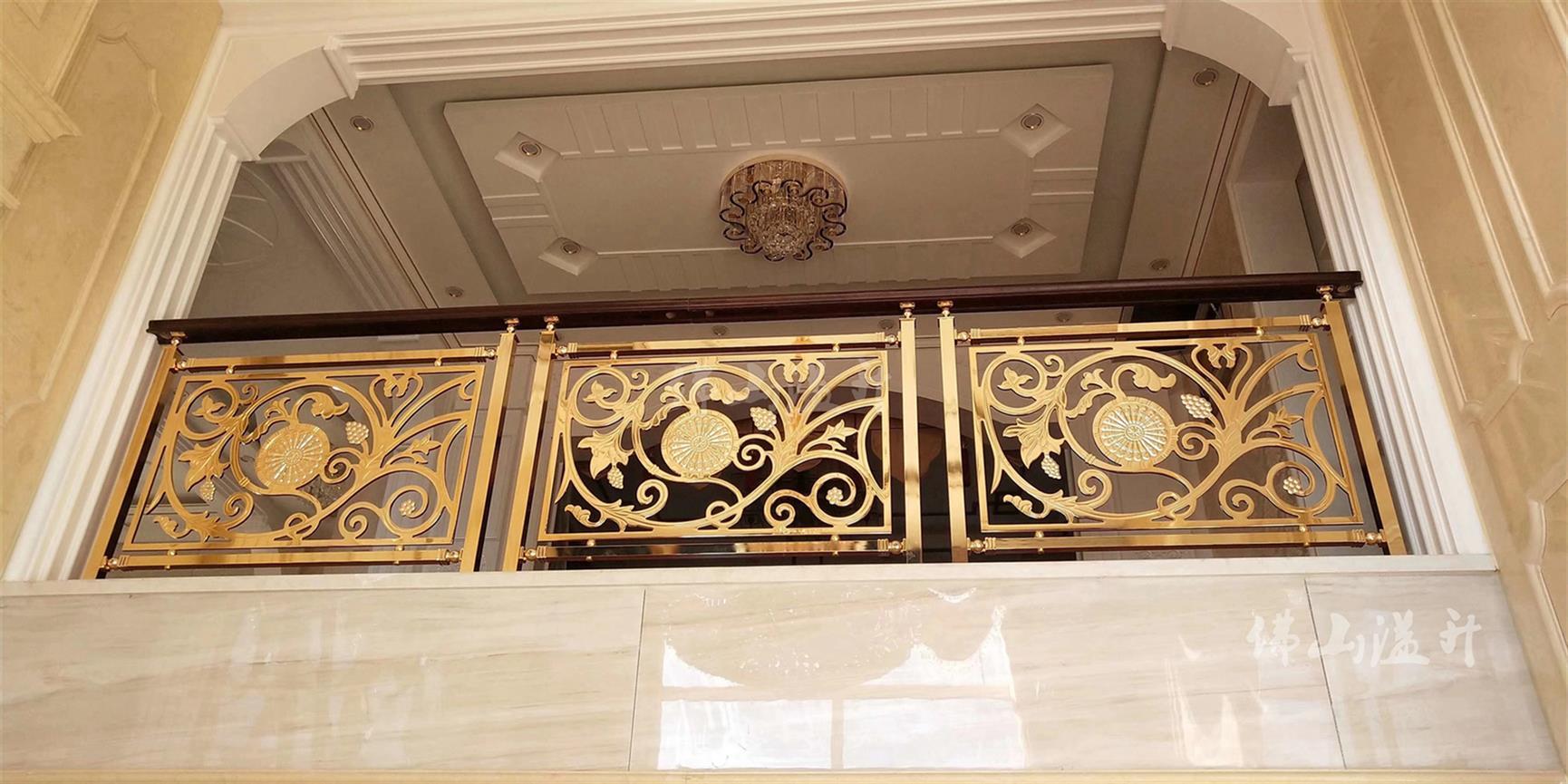 常州铜楼梯扶手价格