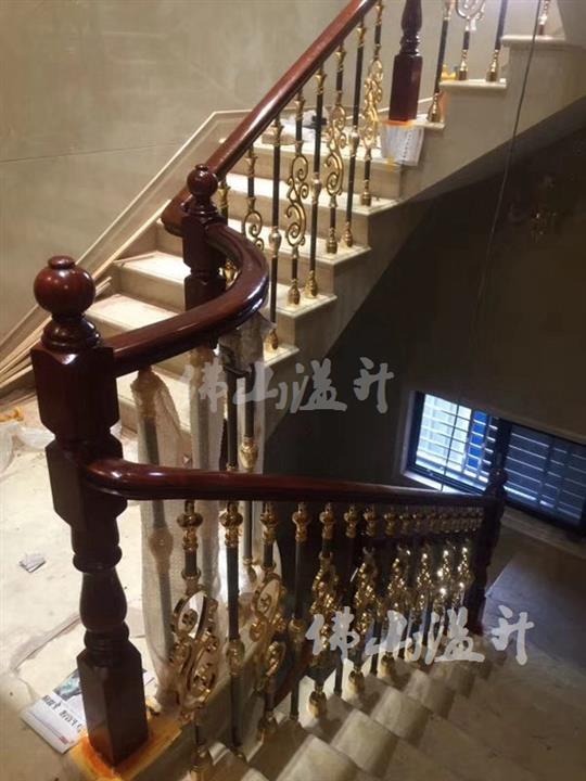 德阳华丽铜楼梯扶手
