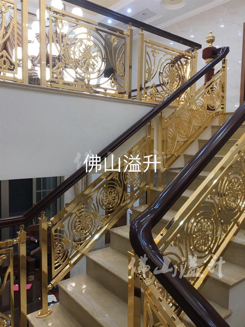 大庆华丽铜楼梯扶手厂