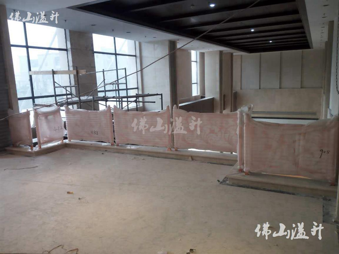 柳州良好铜艺不锈钢楼梯扶手厂