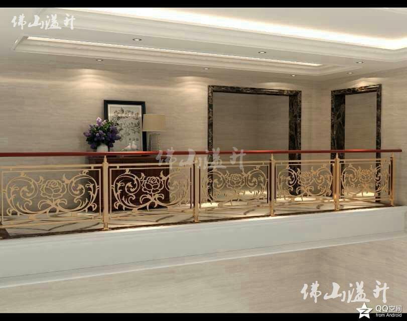 北京华丽铜艺不锈钢楼梯扶手厂